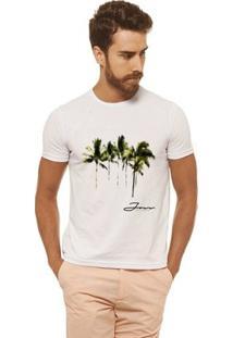Camiseta Joss - Arvores - Masculina - Masculino-Branco