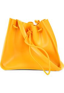 4dc62b569 Bolsa Petite Jolie Saco Básica J-Lastic Mellow Feminina - Feminino-Amarelo