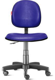 Cadeira Executiva Giratória Courvin Azul Escuro