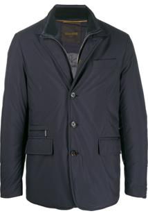 Moorer Fitted Padded Jacket - Azul