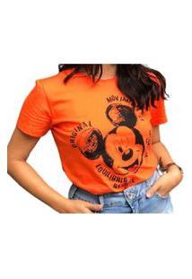 Camiseta Estampada Laranja Colcci 034.57.00281