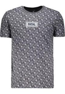 Camiseta Fatal Print Especial - Masculino