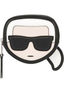 Karl Lagerfeld Porta Moedas K/Ikonik - Preto