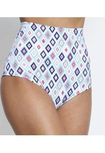Calcinha Hot Pant - Azul & Rosa- Dolce Invitadolce Invita