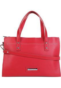 Bolsa Loucos & Santos Shopper Feminina - Feminino-Vermelho