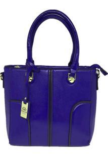 Bolsa Casual Importada Sys Fashion 8533 Azul