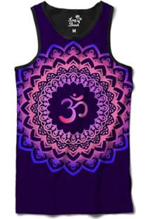 ... Camiseta Regata Long Beach Ohm Florida Mandala Sublimada Masculina -  Masculino-Roxo b0c1797dc87