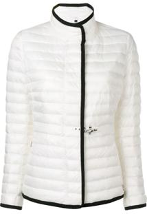 Fay Zipped Padded Jacket - Branco