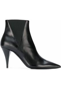 Saint Laurent Ankle Boot Chelsea Kiki - Preto