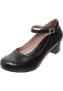 27f98e1b04 Peep Toe Com Salto Conforto feminino