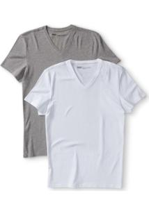 Camiseta 2 Pack V (2 Unid.) Levi'S - Masculino