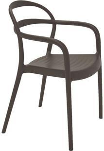 Cadeira Sissi- Marrom- 80,5X57X54Cm- Tramontinatramontina