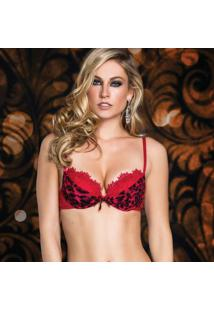 Sutiã Push-Up De Chelles Sensual Panther Crystallize 46