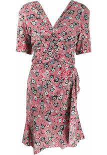 Isabel Marant Vestido Arodie - Rosa