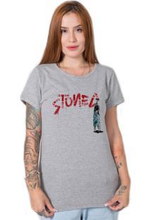 Camiseta Grafite Cinza