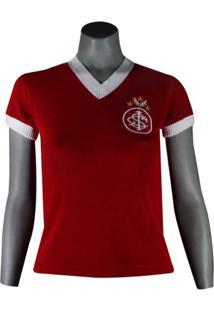 Camiseta Feminina Dilva Oldoni Inter Retro Valdomiro