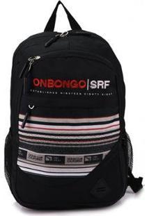 Mochila Para Notebook Onbongo Onm - Unissex-Preto