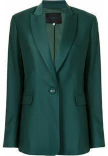 Costarellos Blazer De Alfaiataria Emma - Verde
