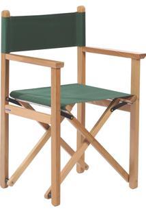 Cadeira Diretor Dobrável Tramontina 12666080 Verde