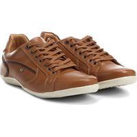 e21373dbe6 Sapatênis Couro Shoestock Recortes Masculino - Masculino-Caramelo