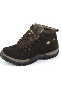 Bota Coturno Tchwm Shoes Adventure Trekking Nobuck Cafe