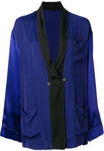 Haider Ackermann Blazer Oversized - Azul