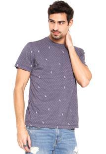 Camiseta Reserva Poá Azul