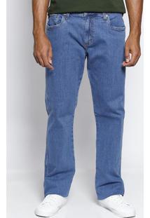 Jeans History Com Zíper - Azul Claroforum