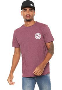 Camiseta Dc Shoes Thomhill Vinho