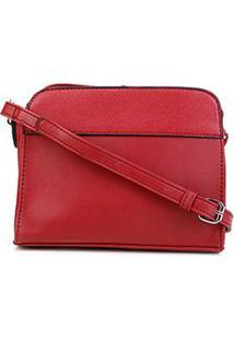 Bolsa Pagani Crossbody Mini Bag Feminina - Feminino-Vermelho