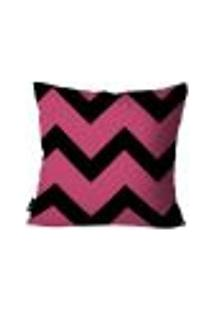 Capa Para Almofada Geométrica 45X45Cm Pink