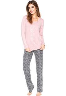 Pijama Any Any Angelita Rosa/Azul