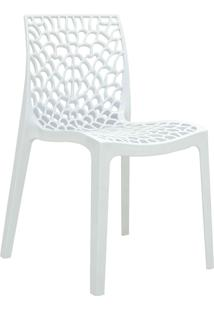 Cadeira Gruv Branca Rivatti Móveis