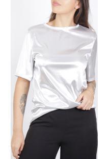 Camiseta Superfluous Prateada