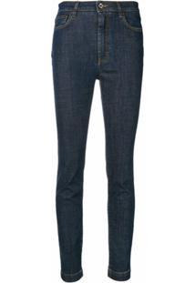 Dolce & Gabbana Calça Jeans Skinny - Azul