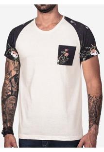 Camiseta Raglan Algodão 101845