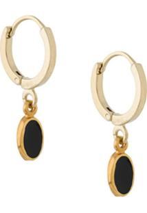 Isabel Marant Pendant Hoop Earrings - Preto