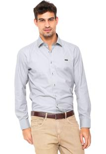 Camisa Mr. Kitsch Texturizada Cinza