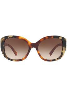Óculos De Sol Burberry Irregular Be4248 Feminino - Feminino