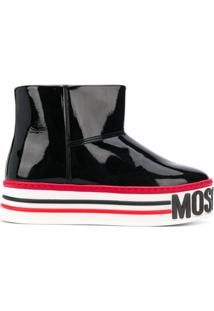 Moschino Ankle Boot - Preto