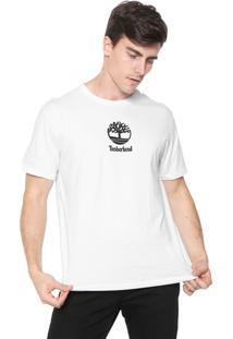 Camiseta Timberland Sls Ss Small Tree Branca