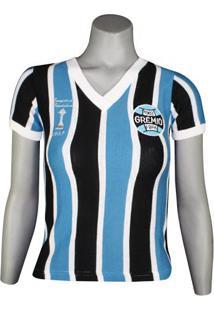 Camisa Feminina Dilva Oldoni Grêmio Retro Renato Gaúcho