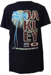 Camiseta Oakley Neon Tee - Masculino-Preto