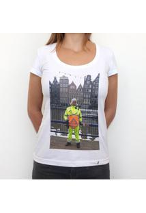 Mster - Camiseta Clássica Feminina