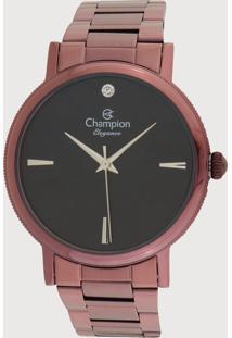 Relógio Champion Cn25896R Roxo