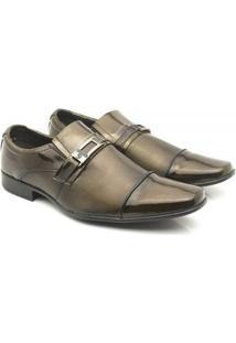 Sapato Social Venetto Classic Conforto - Masculino-Cobre