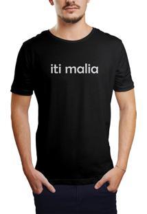 Camiseta Hunter Iti Malia Preta