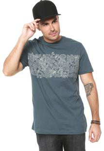 Camiseta Mcd Paisley Verde