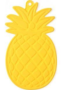 Descanso De Panela 22Cm Abacaxi Amarelo - Quadrifoglio