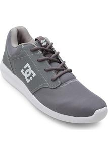 ... Tênis Dc Shoes Midway Masculino - Masculino-Cinza+Branco b2efcb7adefd1